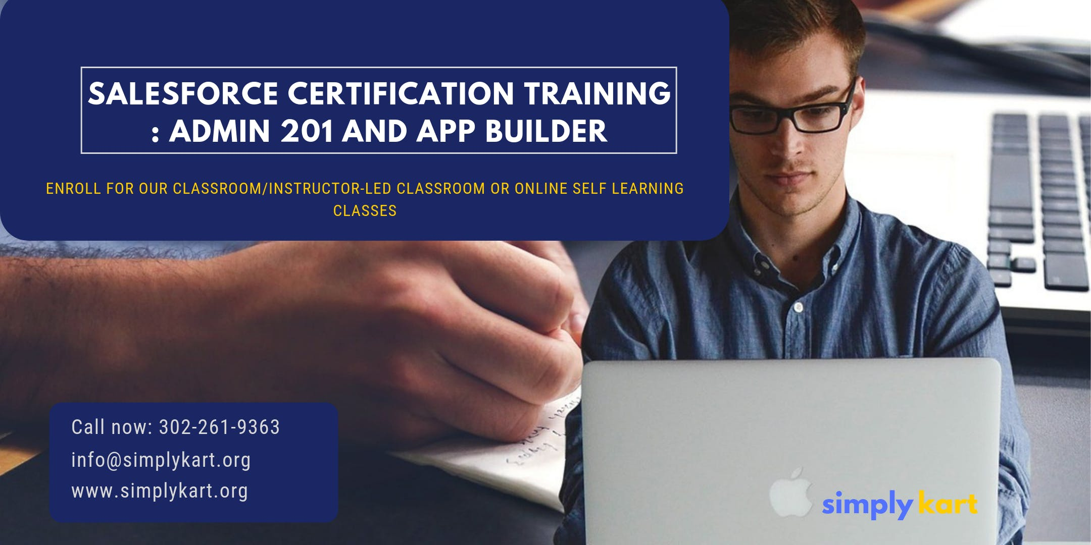Salesforce Admin 201 & App Builder Certification Training in