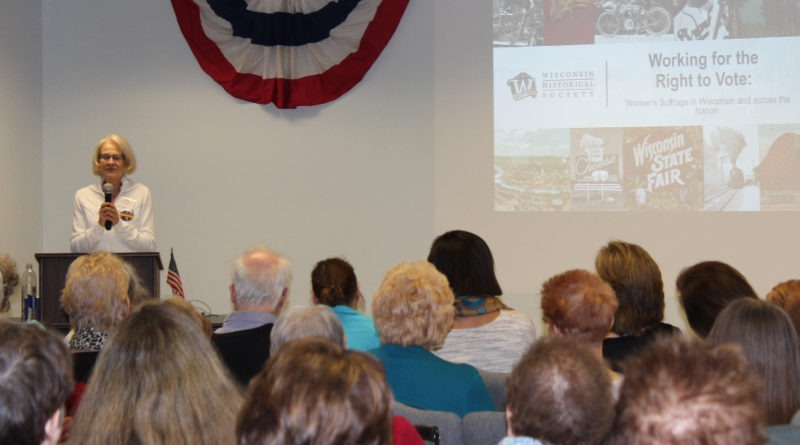 Kathy Evers Speaking At The Sheboygan County Historical Museum